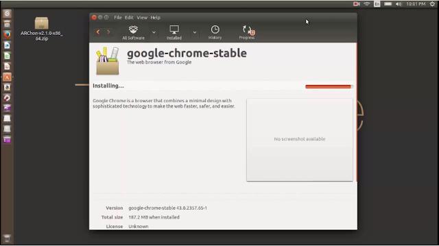How To Install Chrome Browser on Ubuntu liunx tricksuniversity