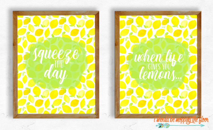 Lemon Printables