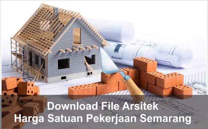 download Harga Satuan Pekerjaan Kota Semarang