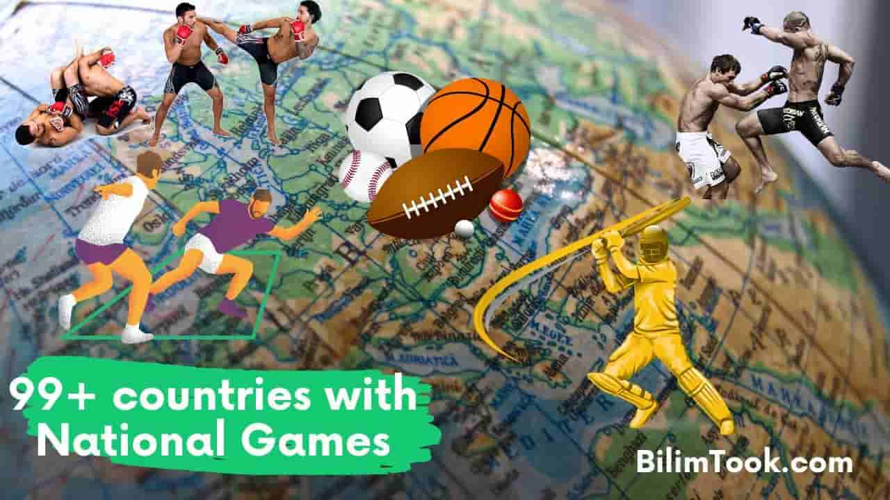 Countries and Their National Games List
