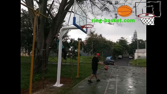 ring basket dengan tiang tanam area jabodetabek