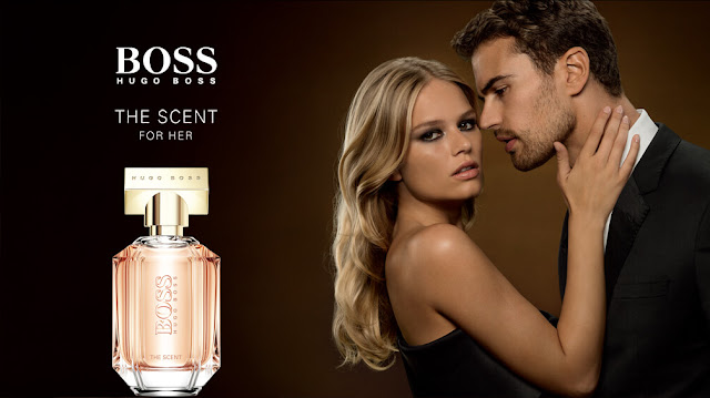 HUGO BOSS THE SCENT ft Theo James & Anna Ewers - FOR HER