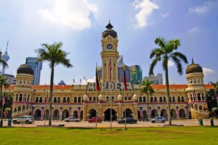 Objek Wisata Favorit di Kuala Lumpur Malaysia Merdeka Square