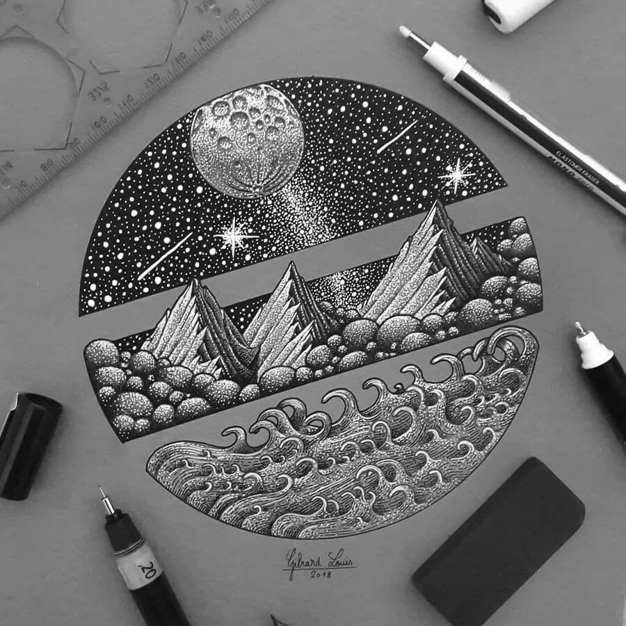 03-Mountains-moon-and-ocean-Louis-Gibiard-www-designstack-co