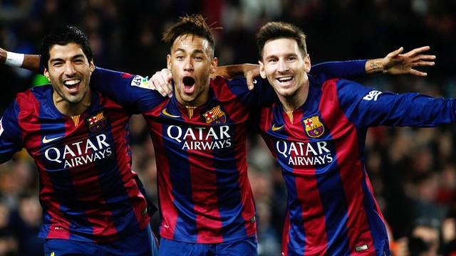 Foto Messi Neymar Suarez