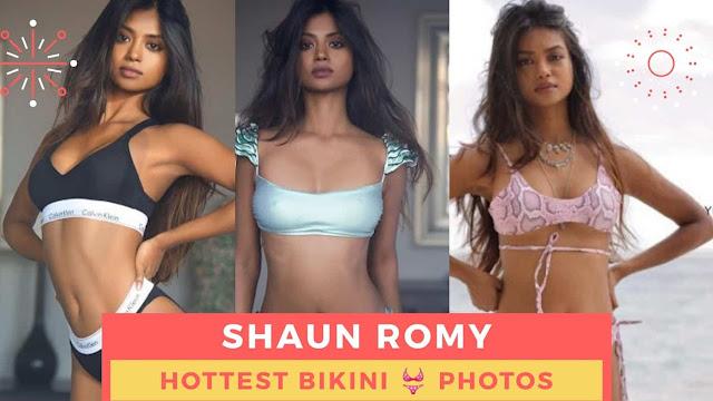 Shaun Romy Sexy Bikini Photos
