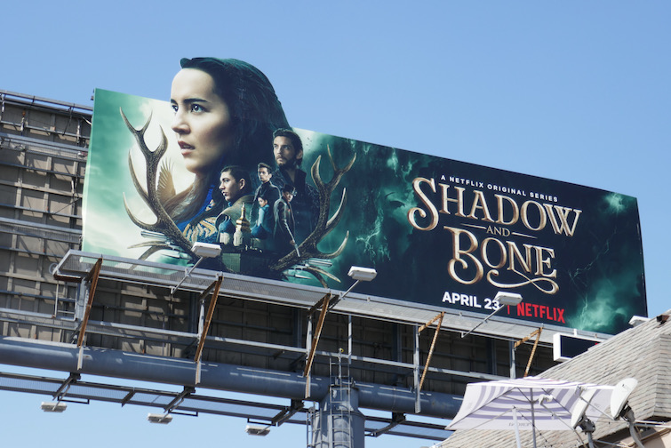 Shadow and Bone extension cut-out billboard