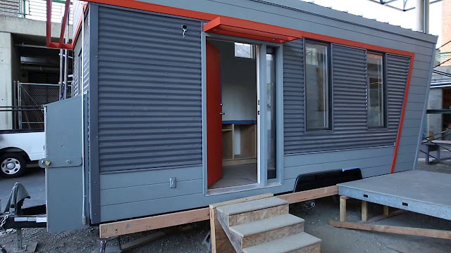 Laney College tiny house