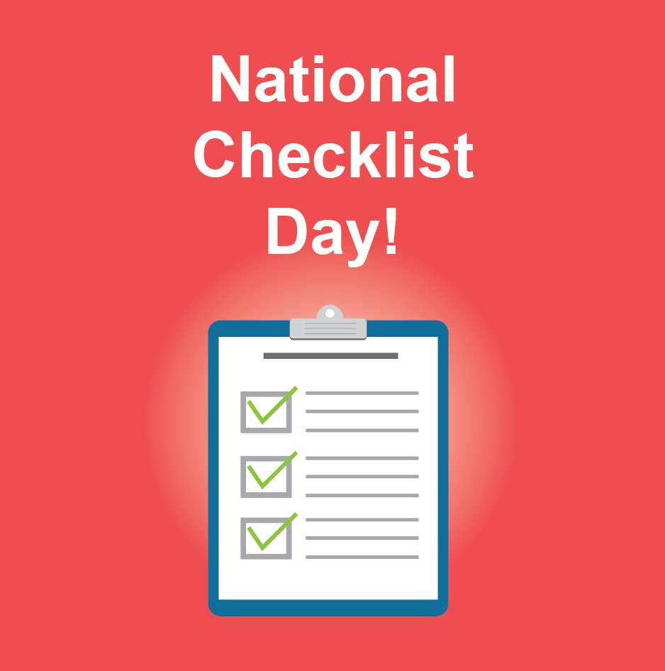 National Checklist Day Wishes Awesome Picture