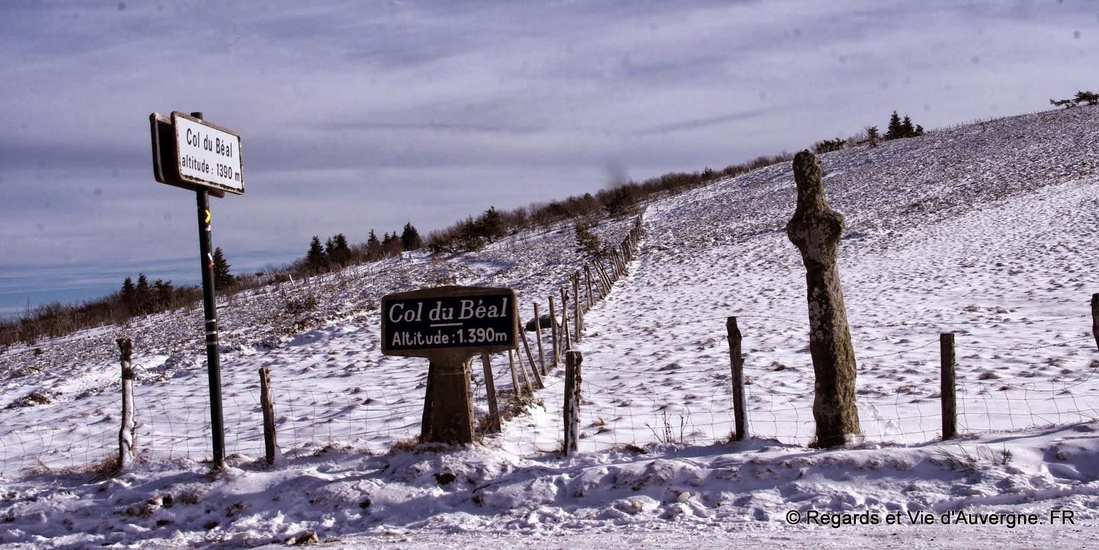 Col de Béal, Puy de Dôme, Auvergne.
