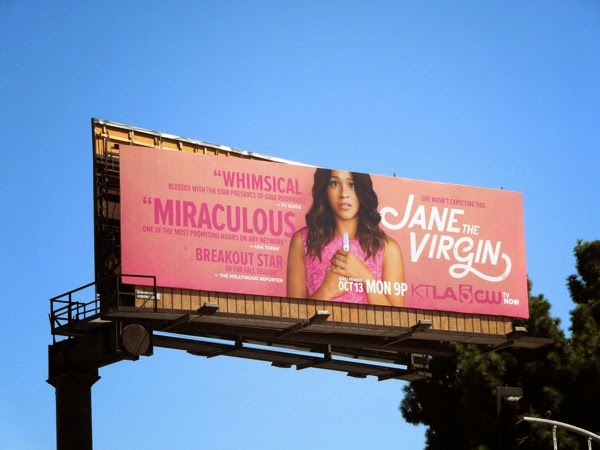 Jane The Virgin season 1 billboard