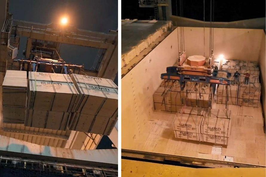 Porto de Paranaguá volta a embarcar madeira fora de contêineres