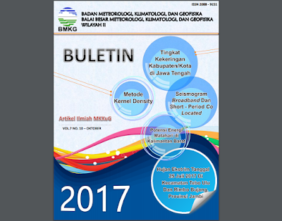 Buletin Ilmiah MKKuG Balai Besar Meteorologi, Klimatologi, dan Geofisika wilayah II