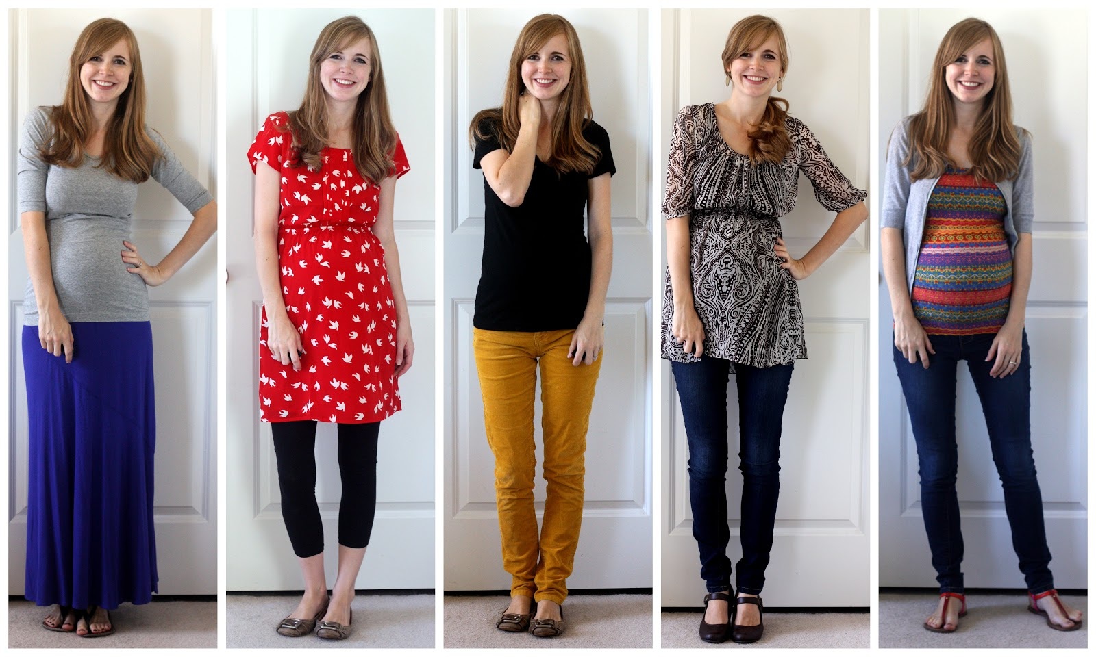 3265c15c1c7a4 Shirt: Target, Pants: Target, Shoes: Fossil Shirt: Borrowed from Landen,  Jeans: Old Navy Maternity, Shoes: Target