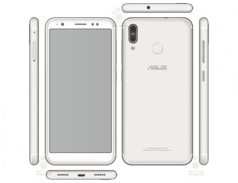 ASUS Zenfone 5 render leaked in a manufacturer's manual