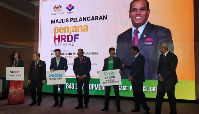 Inisiatif HRDF PENJANA Tawar 40,000 Pekerjaan