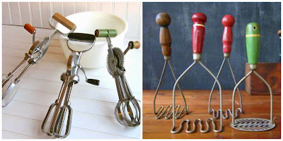 Seventies kitchen utensils