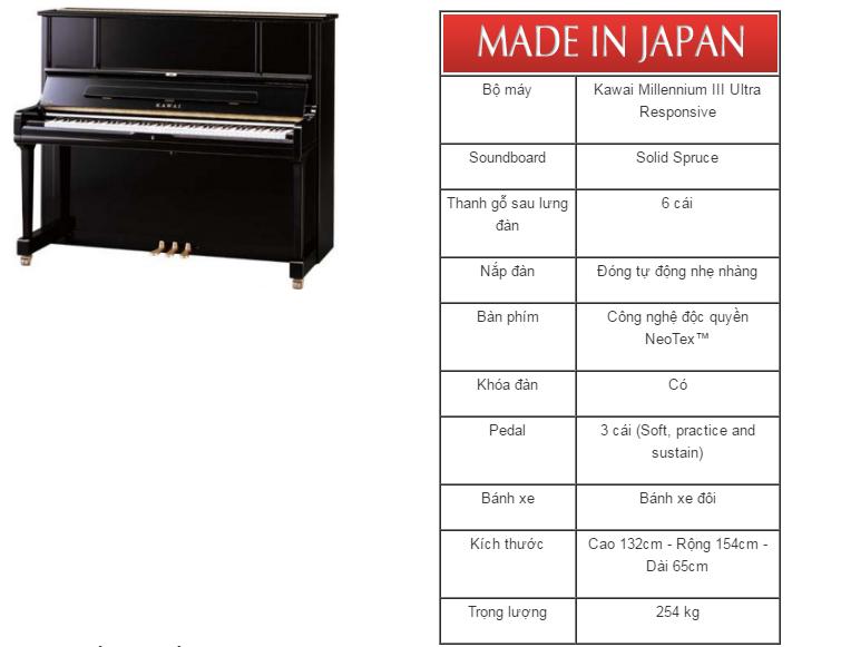 dan piano kawai k-6