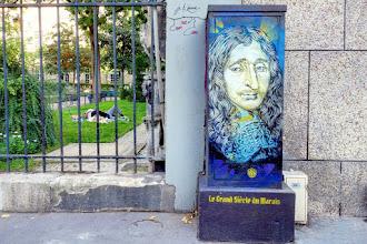 Sunday Street Art : François Mansart par C215 - Parcours le Grand Siècle du Marais - rue Payenne - Paris 3