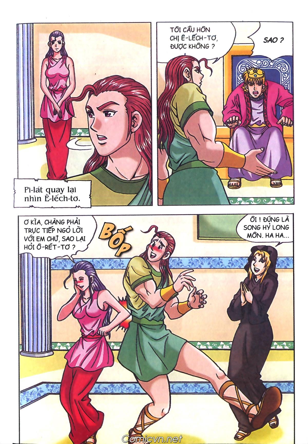 Thần Thoại Hy Lạp Màu - Chapter 72: Phán quyết của Nữ thần Athena - Pic 12