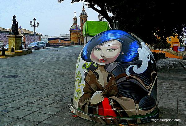 Street art em Triana, Sevilha