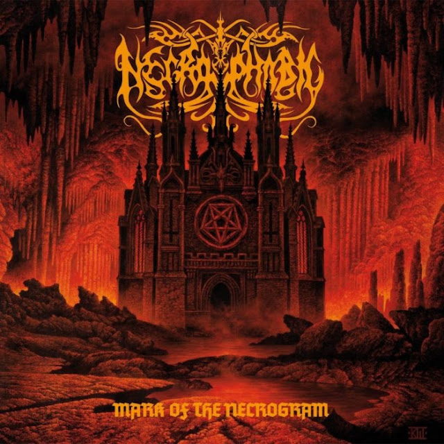 """Mark Of The Necrogram"" artwork 2018"