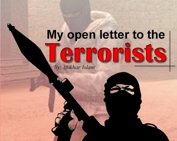 My Letter to the Terrorists - Iftikhar Islam