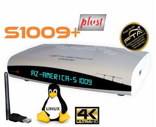 AZAMERICA S1009 PLUS NOVA ATUALIZAÇÀO V1.57 - 28/03/2021