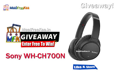 Sony WH-CH700N Giveaway
