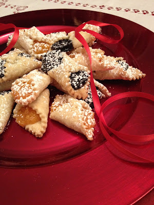 Kifli with Prune or Apricot Filling