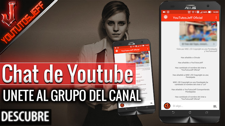 Chat de Youtube - Compartir y comentar vídeos