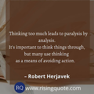 over-thinking quotes