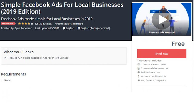 [100% Free] Simple Facebook Ads For Local Businesses (2019 Edition)