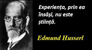 Citatul zilei: 8 aprilie - Edmund Husserl