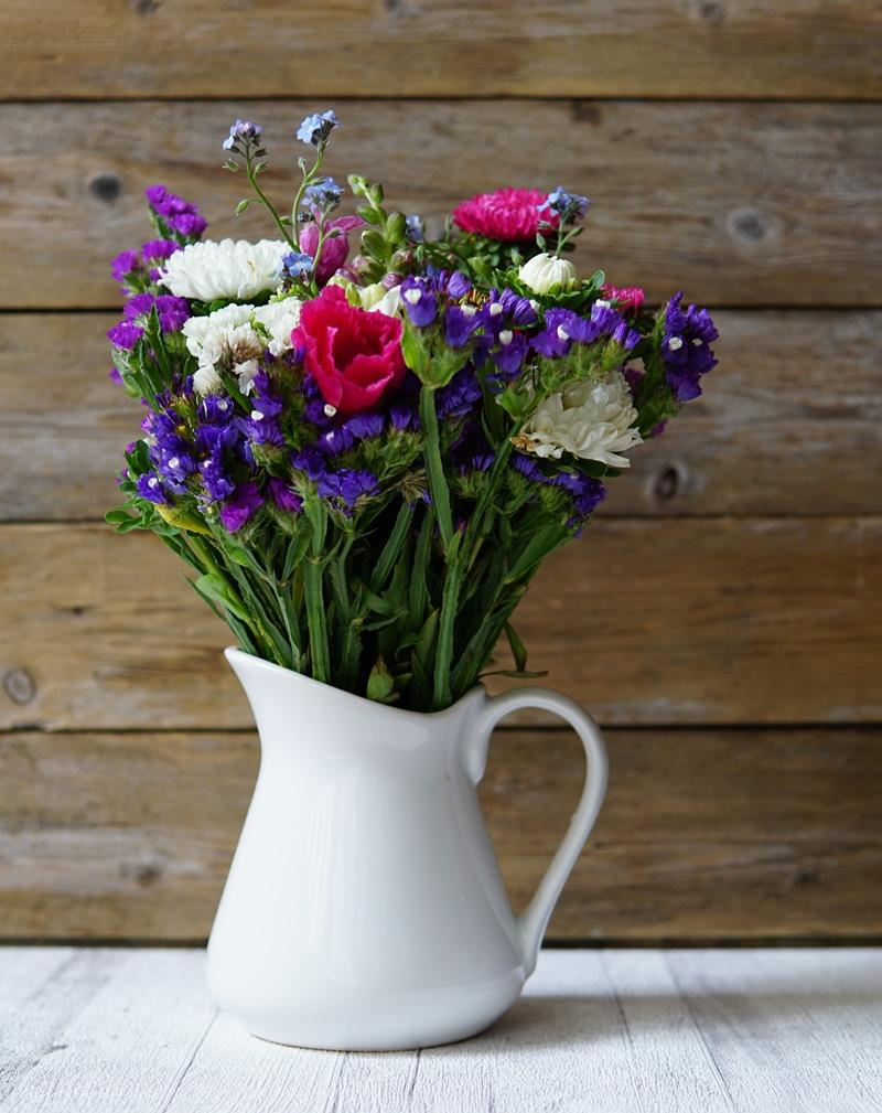 kukkakimppu, kukat