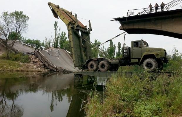 47 інженерна бригада отримала важкий механізований міст