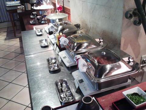 ビュッフェコーナー3 ホテルエミシア札幌カフェ・ドム