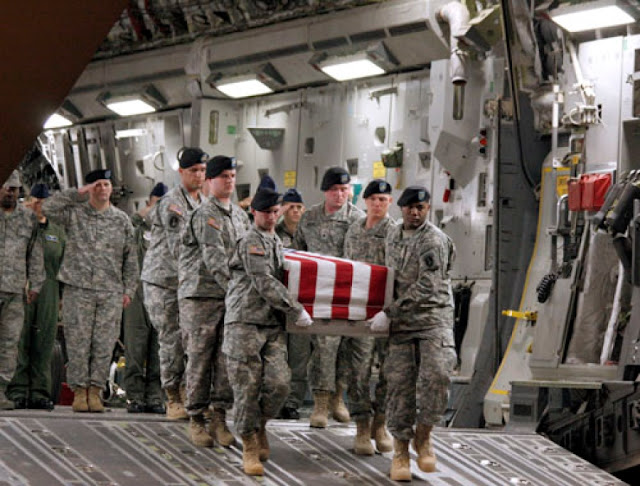Body of Special Forces soldier killed in Niger, arrives in U.S.