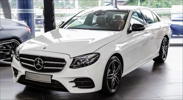 Mercedes E350 sẽ có ngoại hình tương tự Mercedes E300 AMG