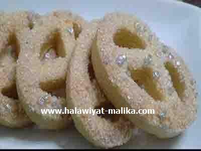 بسكويت السكر المشهور في ليبيا