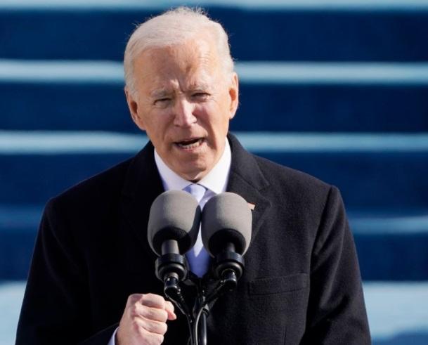 Joe Biden speaks on letter left by Trump