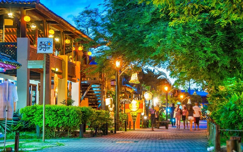 Onde comer na Praia do Forte