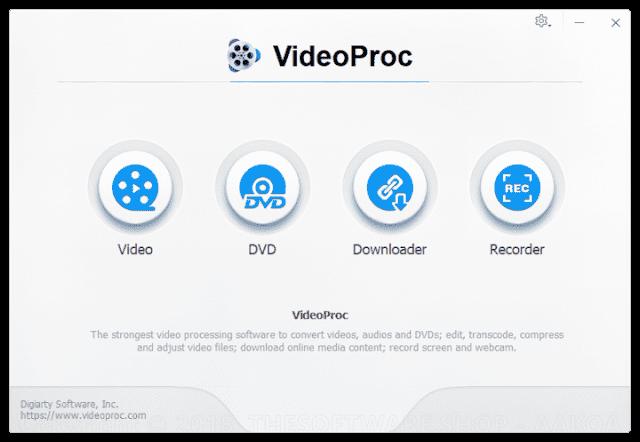 Screenshot Digiarty VideoProc 3.4 Full Version