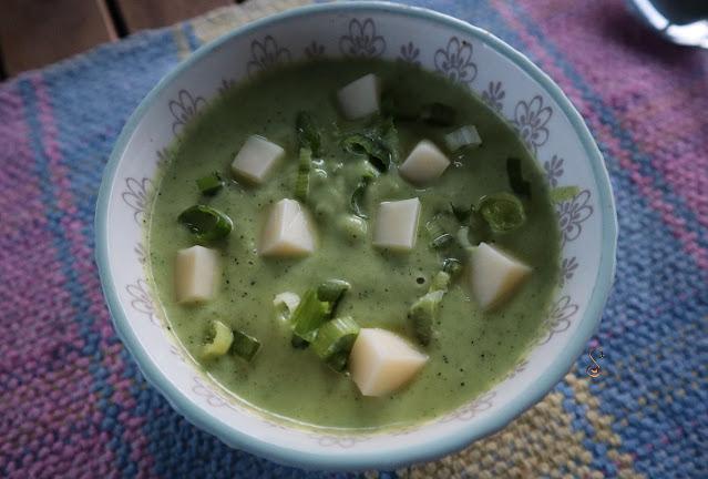 Crema de calabacín o zucchini keto