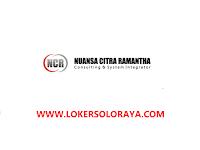 Loker Solo IT Technical Support/Programmer di PT Nuansa Citra Ramantha