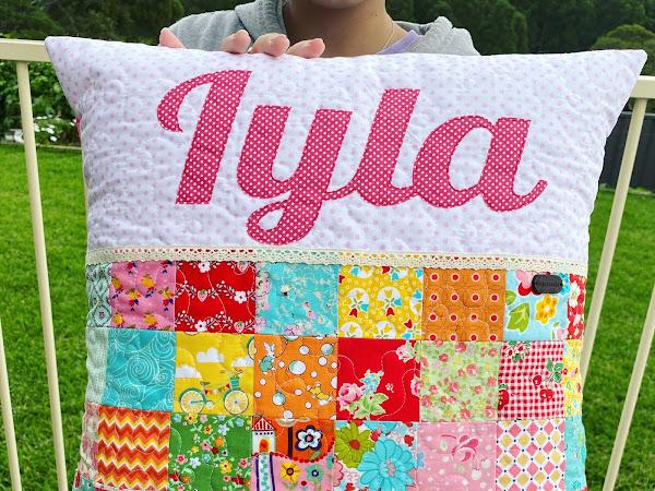 Custom Cushion for Iyla