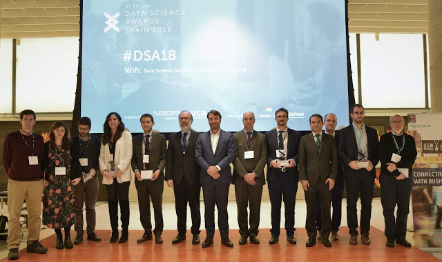 """""""Data is in the air"""" with the Data Science Awards Spain 2018"""