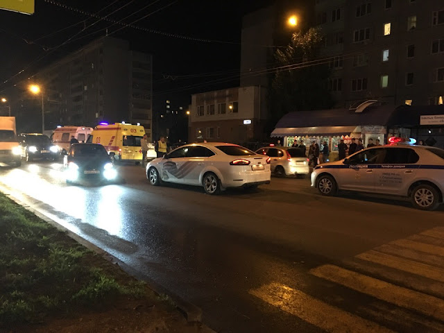 В Башкирии иномарка сбила двух пешеходов