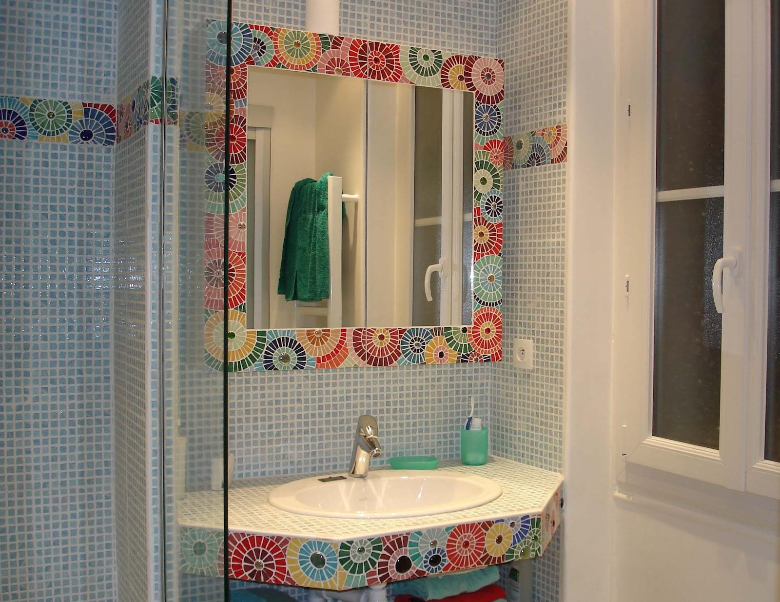 Frise salle de bain castorama avec des id es int ressantes pour la conception de for Salle de bain frise mosaique