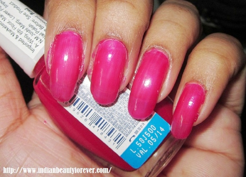 Maybelline Colorama in Glamour Pink review